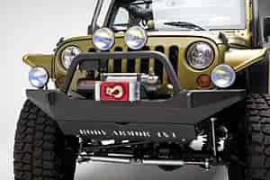 Body Armor JK-19531 - Body Armor 4 X 4 Front Bumpers