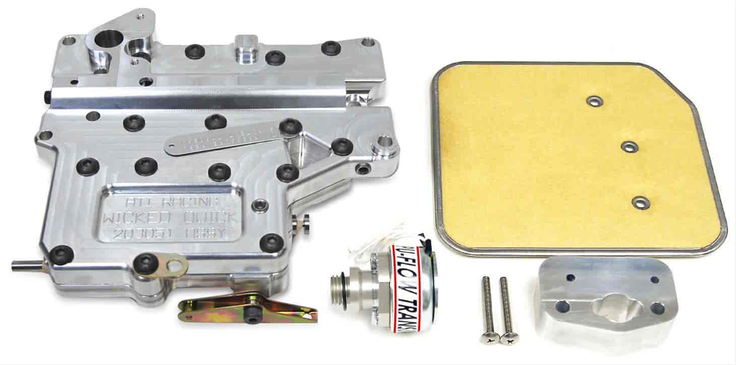 085 203051 ati 203051 wicked quick lightweight billet aluminum transbrake
