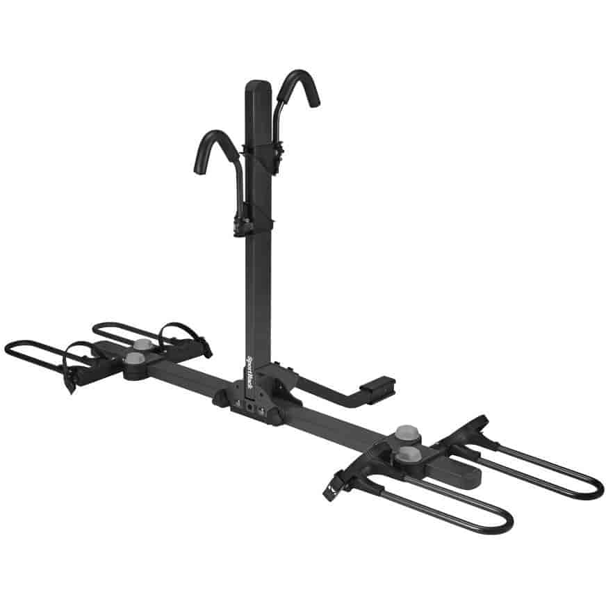 sportrack sr2910 crest 2 deluxe bicycle carrier holds 2 bikes jegs. Black Bedroom Furniture Sets. Home Design Ideas