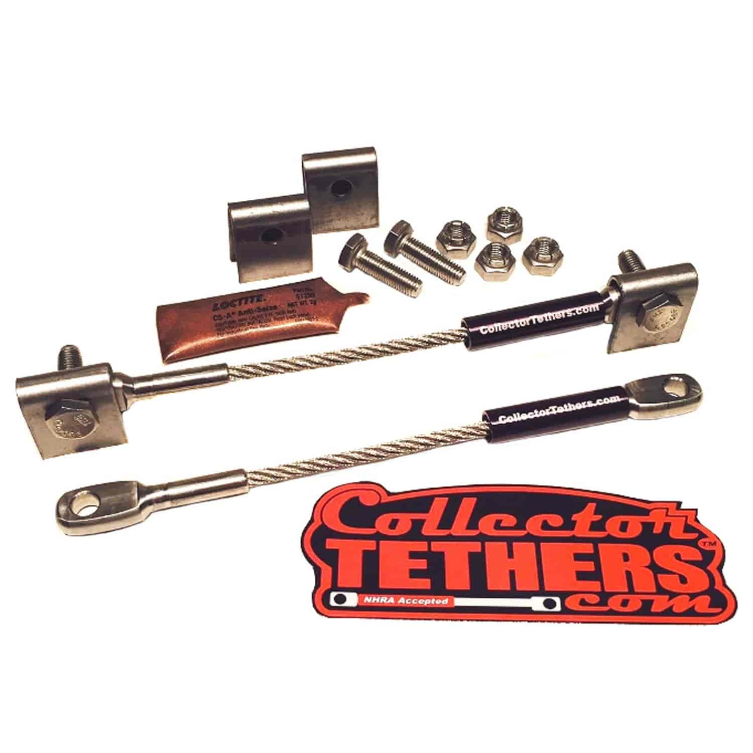 Collector Tethers 4040-WMS-BLK