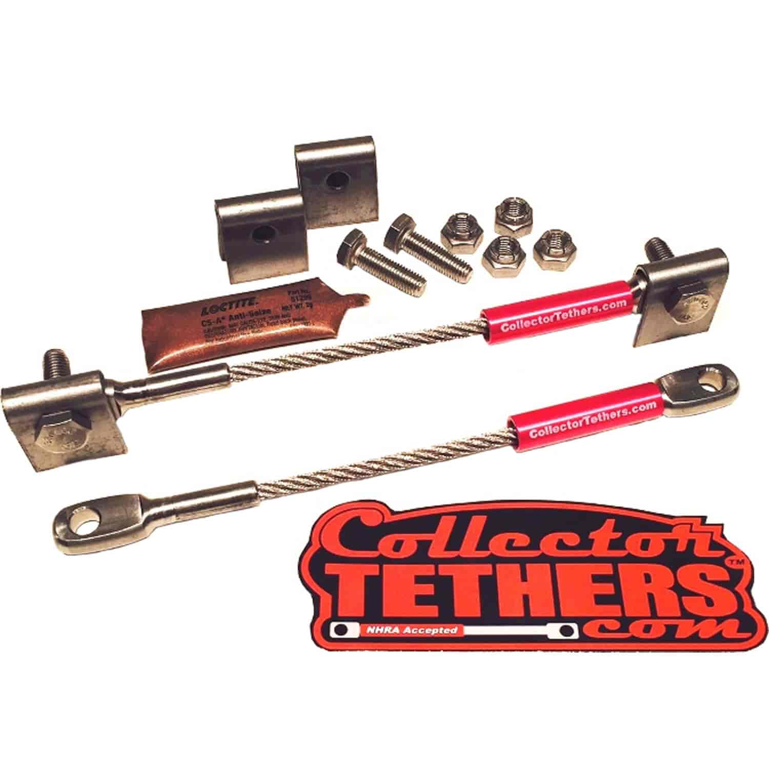 Collector Tethers 4040-WMS-PNK