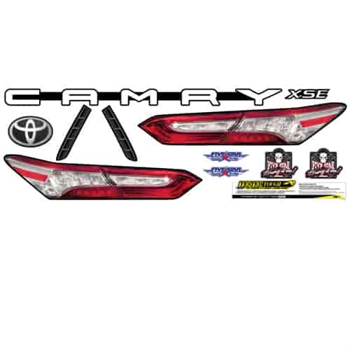 Five Star Race Car Bodies Graphics Kits   JEGS