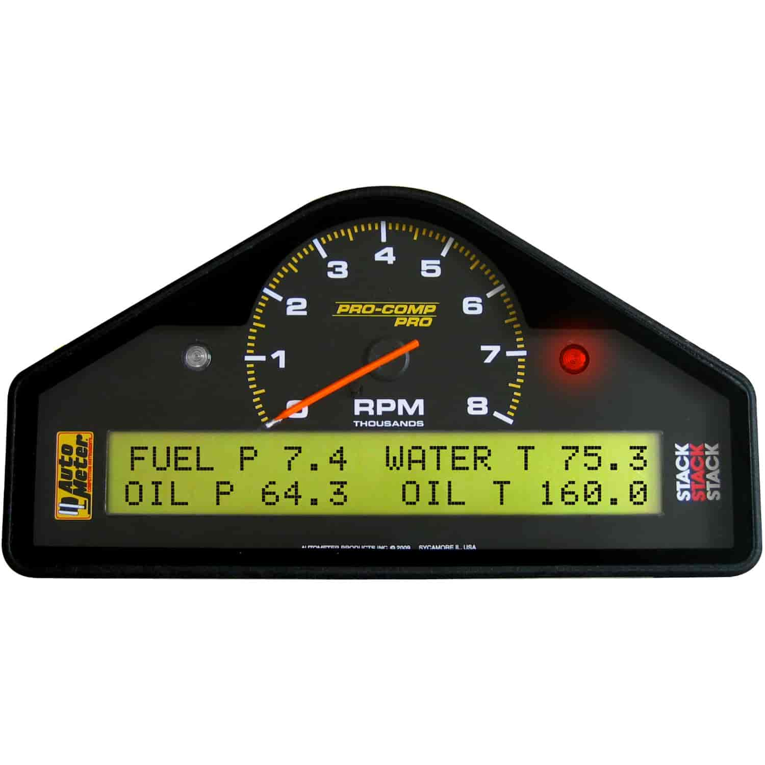 Truck Fender Flares >> Stack Gauges ST269601: Mult-Function Display Logger Drag ...
