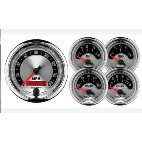 Auto Meter 1202 - Auto Meter American Muscle Gauges and Dash Kits