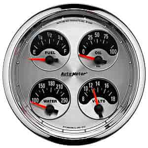 Auto Meter 1212 - Auto Meter American Muscle Gauges and Dash Kits
