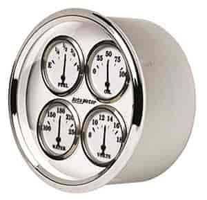 Auto Meter 1213 - Auto Meter Old Tyme White II Gauges