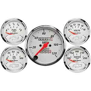Auto Meter 1300-00408 - Auto Meter Officially Licensed GM Gauges