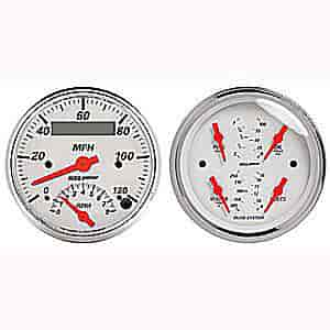 auto meter 1309 arctic white quad gauge kit 3-3/8 ... auto meter gauges wiring diagram
