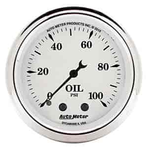 Auto Meter 1621 - Auto Meter Old Tyme White Gauges