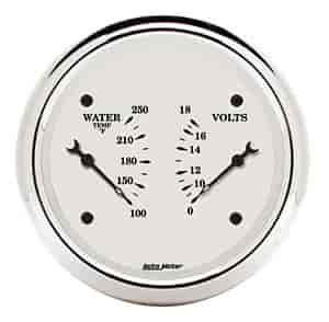 Auto Meter 1630 - Auto Meter Old Tyme White Gauges