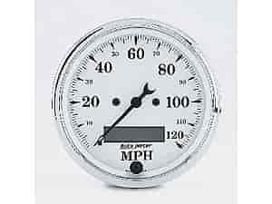 Auto Meter 1688-M - Auto Meter Old Tyme White Gauges