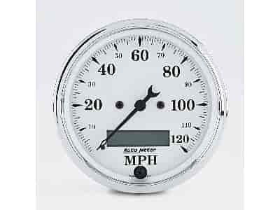 Auto Meter 1688 - Auto Meter Old Tyme White Gauges
