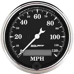 Auto Meter 1787 - Auto Meter Old Tyme Black Gauges