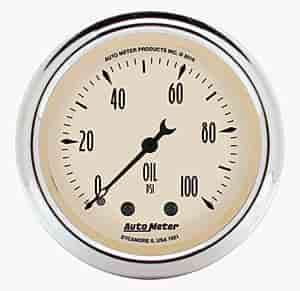 Auto Meter 1821 - Auto Meter Antique Beige Gauges