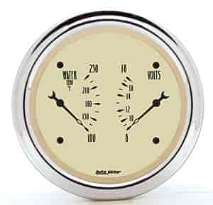 Auto Meter 1830 - Auto Meter Antique Beige Gauges