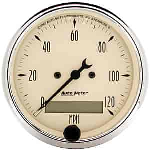Auto Meter 1887 - Auto Meter Antique Beige Gauges