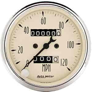 Auto Meter 1896 - Auto Meter Antique Beige Gauges
