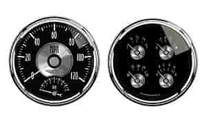 Auto Meter 2005 - Auto Meter Prestige Black Diamond Gauges