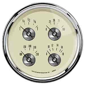 Auto Meter 2009 - Auto Meter Prestige Antique Ivory Gauges