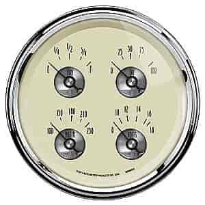 Auto Meter 2010 - Auto Meter Prestige Antique Ivory Gauges