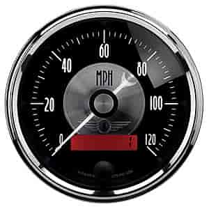 Auto Meter 2086 - Auto Meter Prestige Black Diamond Gauges