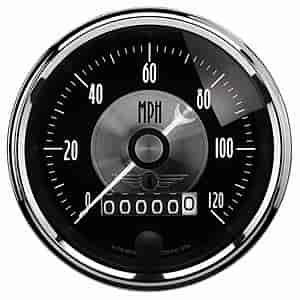 Auto Meter 2088 - Auto Meter Prestige Black Diamond Gauges