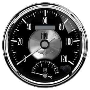 Auto Meter 2091 - Auto Meter Prestige Black Diamond Gauges