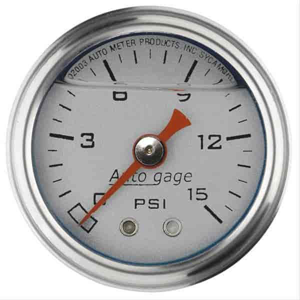 Auto Meter 2178 - Auto Meter 1-1/2'' Direct Mount Pressure Gauges