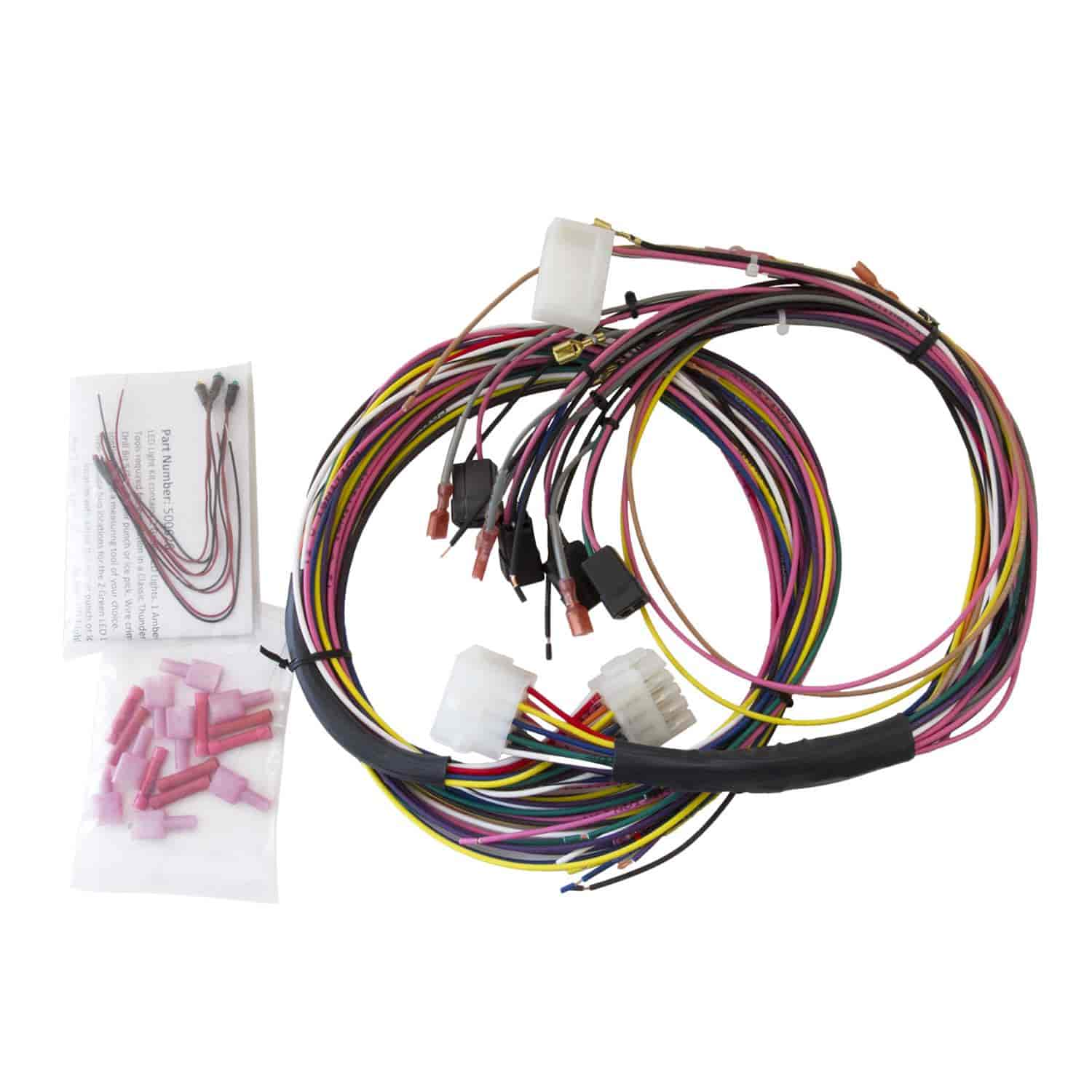 105 2198 auto meter 2198 replacement wiring harness universal jegs VW Wiring Harness Kits at aneh.co