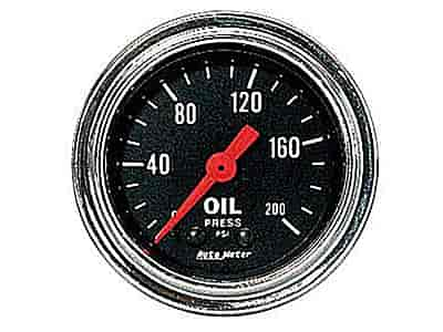 Auto Meter 2422 - Auto Meter Traditional Chrome Gauges