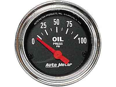 Auto Meter 2522 - Auto Meter Traditional Chrome Gauges