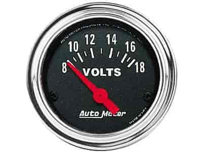 Auto Meter 2592 - Auto Meter Traditional Chrome Gauges