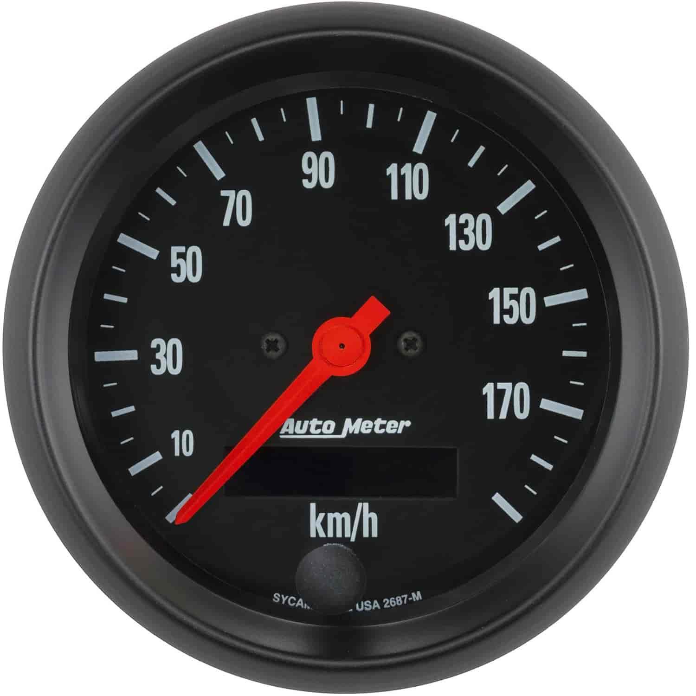 Auto Meter Z-Series GPS Speedometer 3-3/8