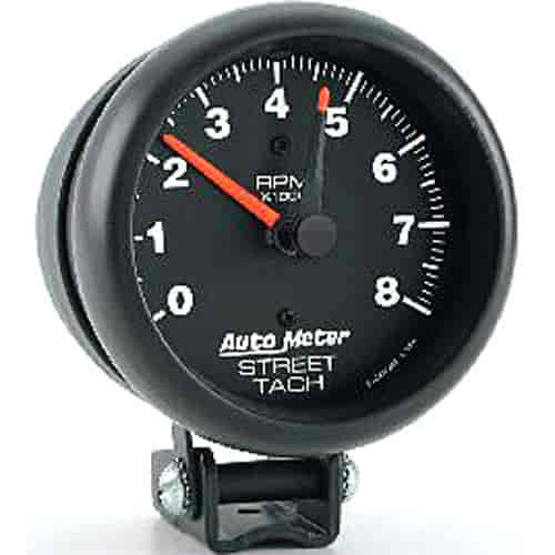 auto meter 2894 z series tachometer 3 3 4 electrical ebay