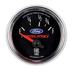 Auto Racing Licensed Products on Auto Meter 880075   Auto Meter Officially Licensed Ford Gauges