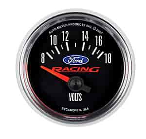 Auto Racing Licensed Products on Auto Meter 880081   Auto Meter Officially Licensed Ford Gauges