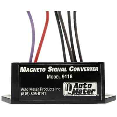 auto meter magneto signal converter/tachometer adapter each  auto meter 9118