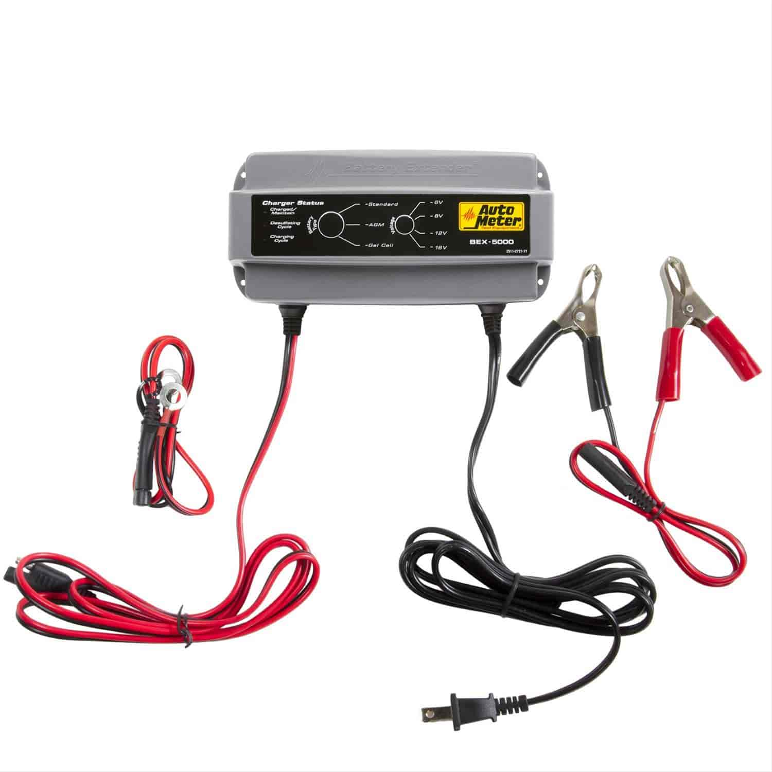 Auto Meter Bex 5000 Battery Extender 6 8 12 16 Volts 50 Amp Jegs Sears Charger Parts As Well Desulfator Circuit In