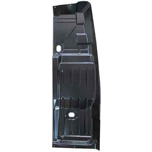 Auto metal direct 405 3068 l steel floor pan half 1968 for 100 floors floor 74