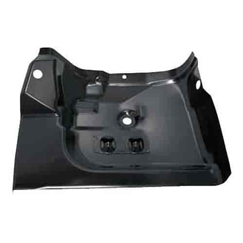 Auto metal direct 420 3570 l steel floor pan left rear for 1981 camaro floor pans