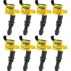 Accel 140033-8 - Accel Super Coil Ignition Coils for 1997-Up Ford V6/V8