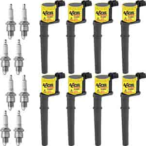 Accel 140034K2 - Accel Super Coil Ignition Coils for 1997-Up Ford V6/V8