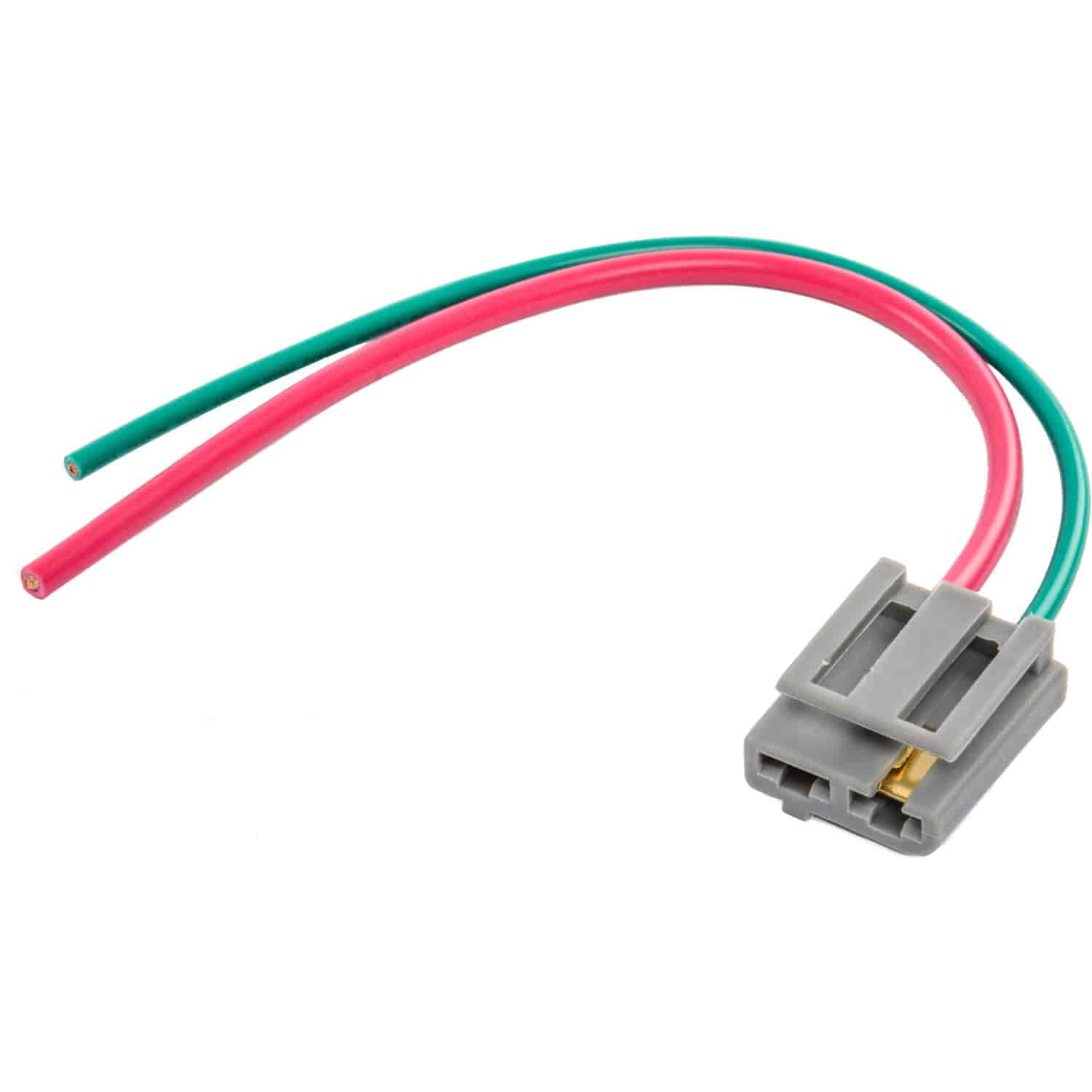 accel 170072 hei battery tachometer pigtail connector gm hei rh jegs com Pigtail Electrical Diagram 3 Prong Electric Range Pigtail