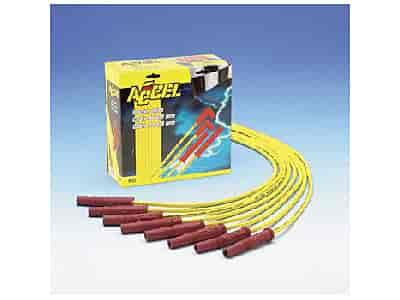 Accel 8.8mm Ignition Wires Straight Boot, HEI on