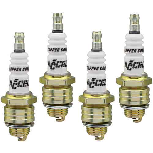 Accel Spark Plugs 0124-4 - Accel Copper Core Spark Plugs