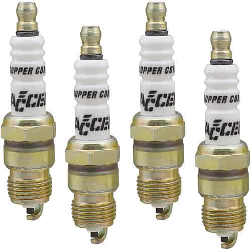 Accel Spark Plugs 0576S-4 - Accel Copper Core Spark Plugs
