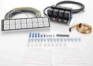 116 8000D arc auto rod controls 8000d 8 switch flat touch control panel arc wiring diagram at panicattacktreatment.co