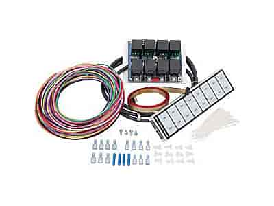 116 8000R arc auto rod controls 8000r 8 switch flat touch control panel arc switch panel wiring diagram at webbmarketing.co