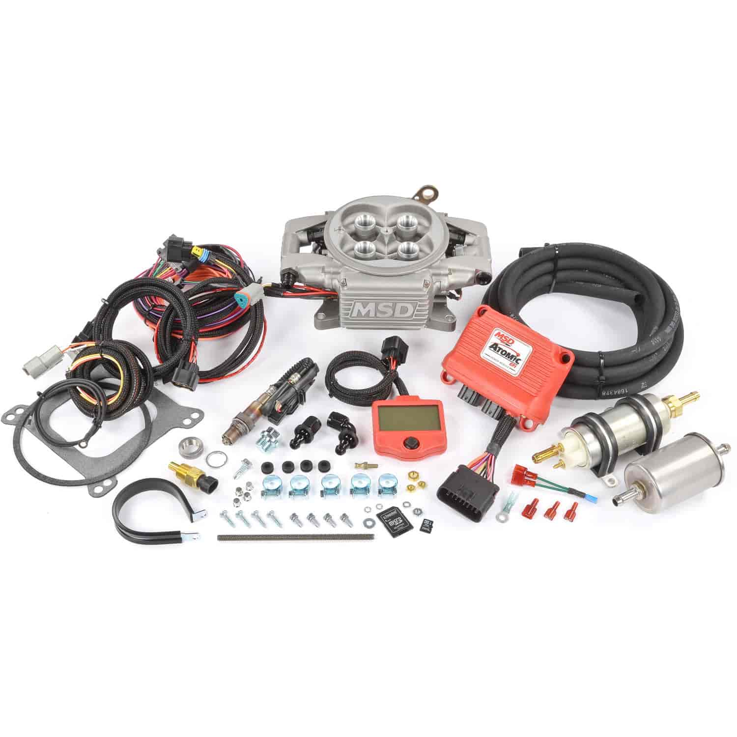 Msd Ignition 2900 Atomic Efi Master Kit Max 525 Hp Jegs Box Diagram Besides Distributor Wiring Together With