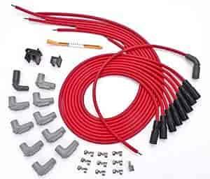 Spark Plug Wires | Msd Ignition 32129 Red Universal 8 5mm Spark Plug Wire Set Gm Lt1
